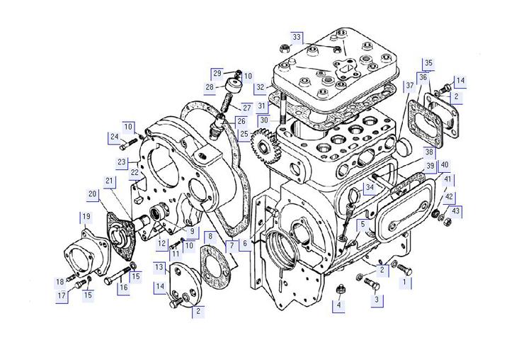 Блок пускового двигателя 17-01-13СП