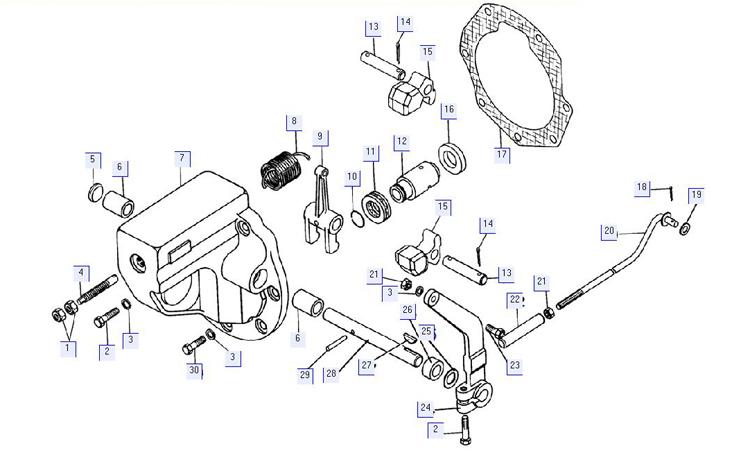 Регулятор пускового двигателя 17-06-4СП