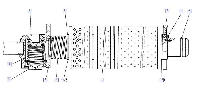 Фильтр гидросистемы 64-26-250СП