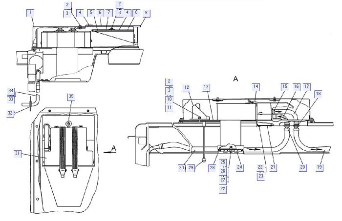 Отопитель-вентилятор