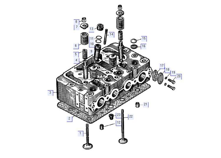 Головка цилиндров 51-02-3СП