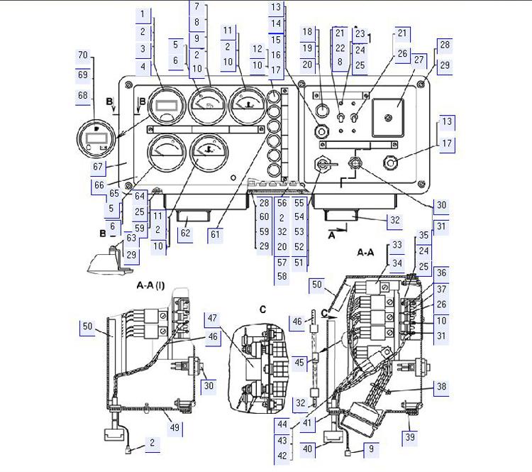 Блок пуска и контроля 64-10-500-01СП; 64-10-500СП; 64-10-500-03СП; 64-10-500-02СП