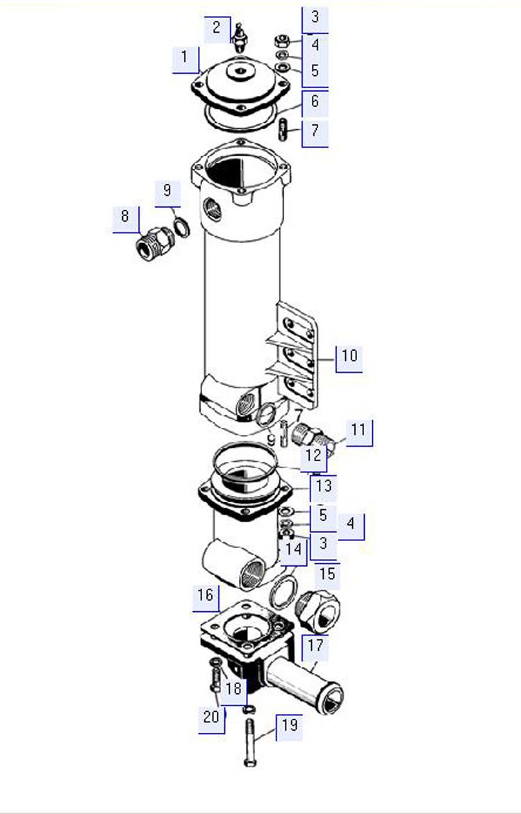 Фильтр 64-14-129СП