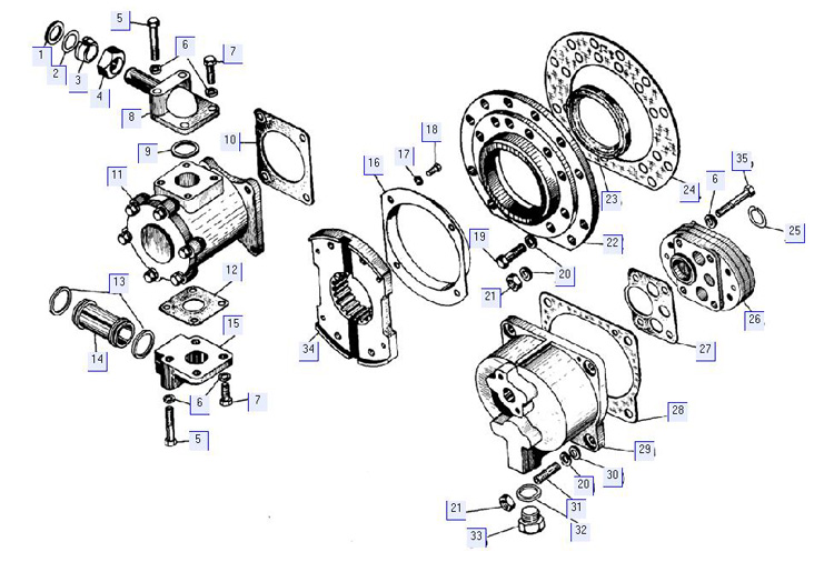 Детали гидротрансформатора