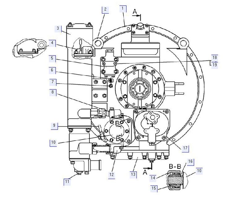 Гидротрансформатор 64-14-1СП; 64-14-1-02СП; 64-14-1-01СП; 64-14-1-03СП