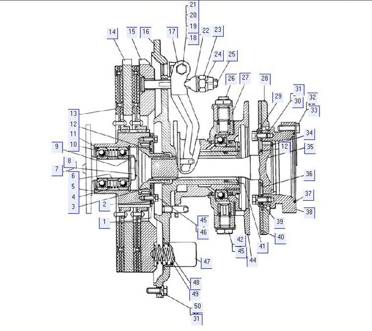 Муфта сцепления 18-14-4СП; 20-14-2СП